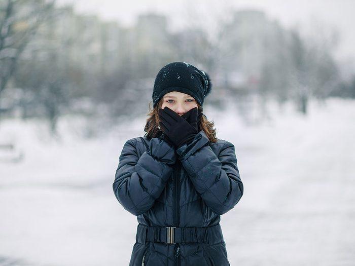 Le saviez-vous: la neige source de phobie.