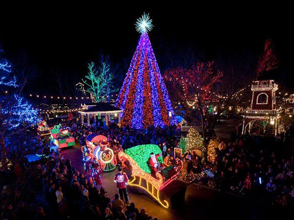 Branson dans le Missouri, est l'un des villages au Noël d'antan à visiter.