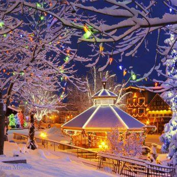 16 villages américains qui célèbrent un Noël d'antan