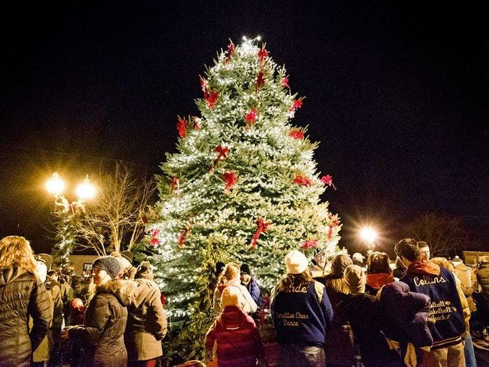 Manistee dans le Michigan, est l'un des villages au Noël d'antan à visiter.