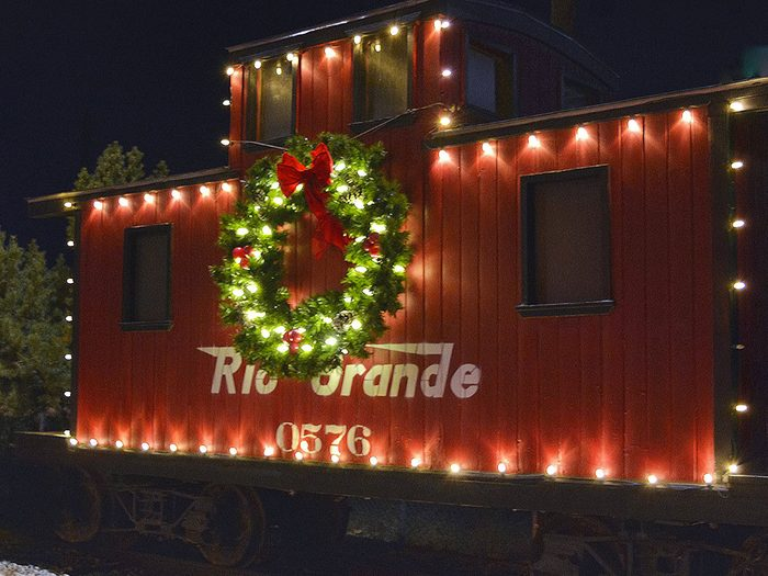 Salida dans le Colorado, est l'un des villages au Noël d'antan à visiter.