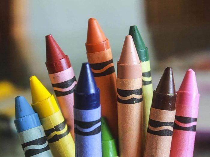 Le paradoxe des crayons Crayola.
