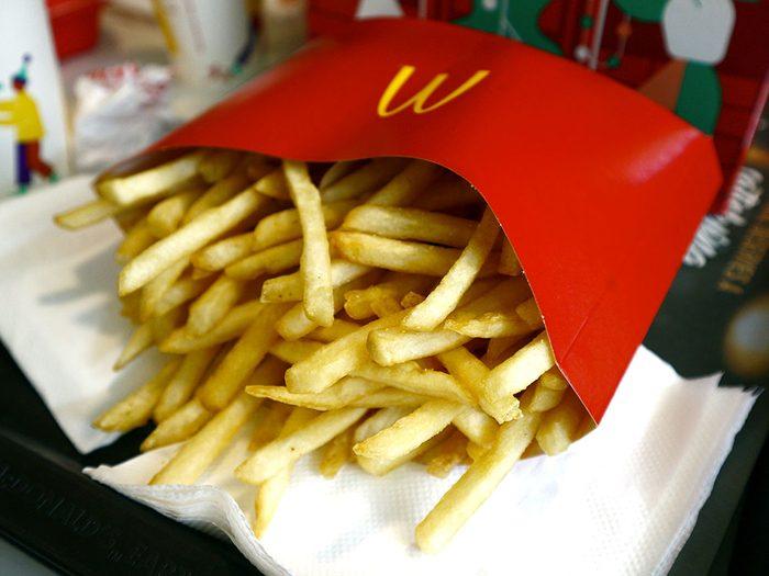 Le paradoxe de McDonald's.