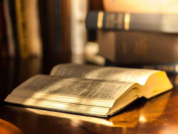 Le paradoxe de la Bible.