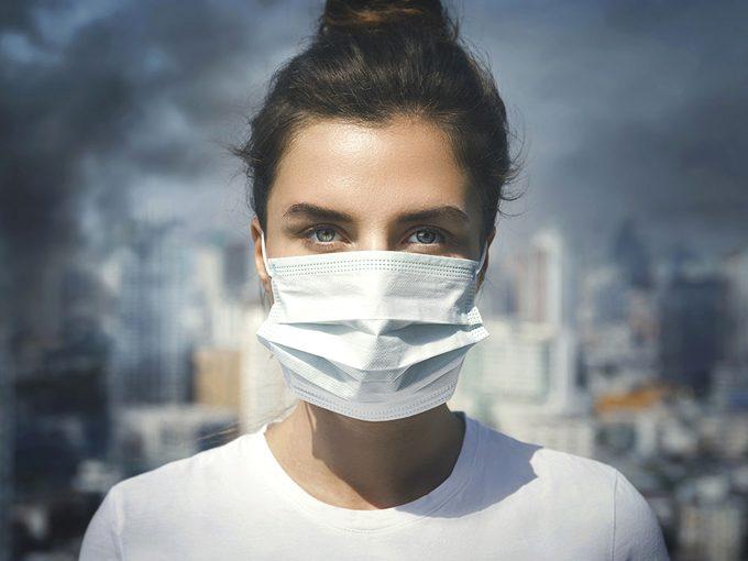 La pollution, même faible, menace les poumons.