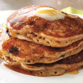 Pancakes au muesli et aux petits fruits, à congeler