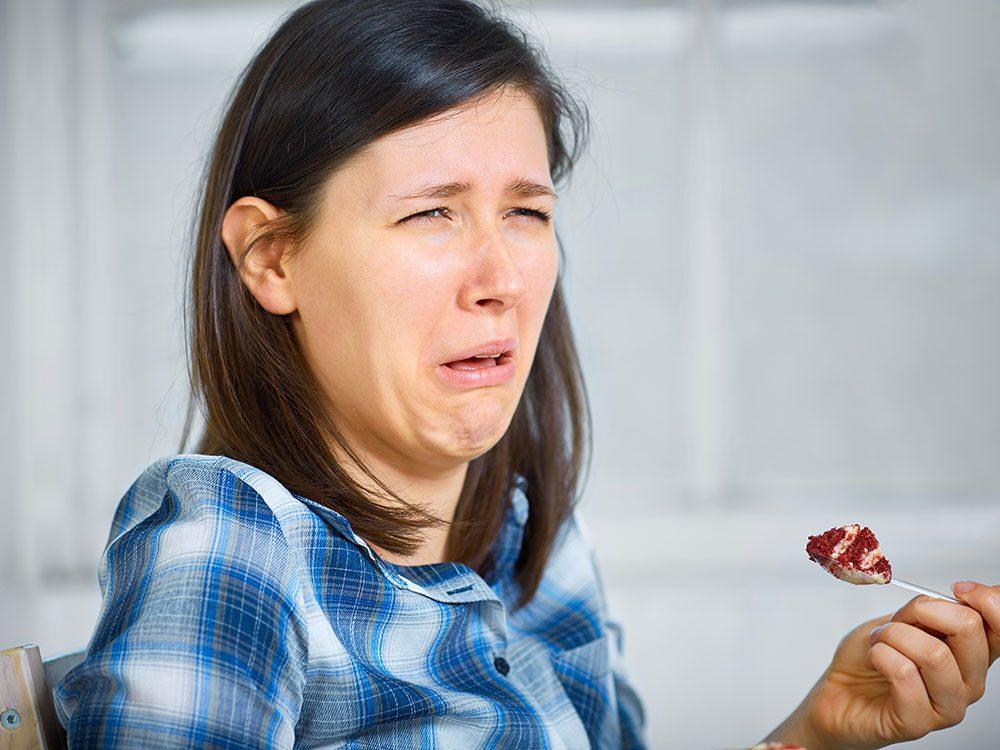 Pendant le repas de Noël, évitez de dire que vous n'aimez pas ce que vous mangez.