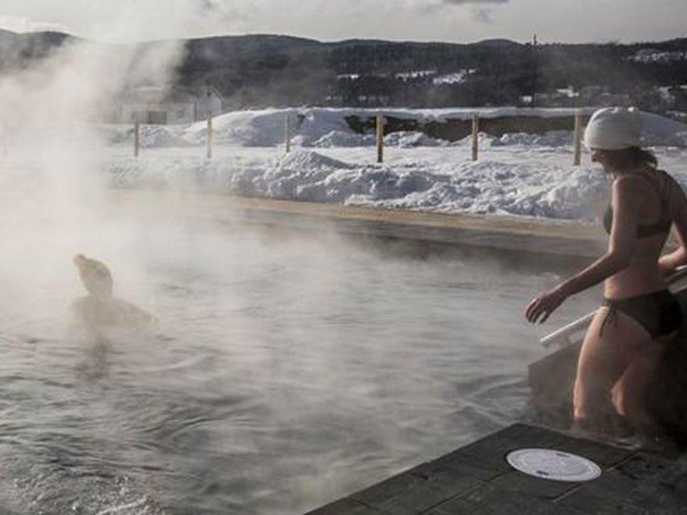 Profitez d'un spa à l'hôtel Le Germain à la Baie-Saint-Paul.