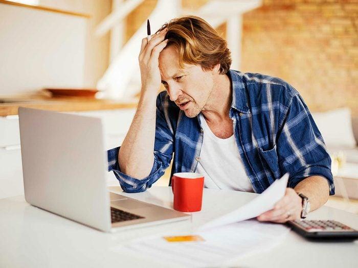 Le stress peut vous provoquer des symptômes de zona.