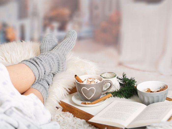 Le stress joue sur le vieillissement accéléré du corps en hiver.