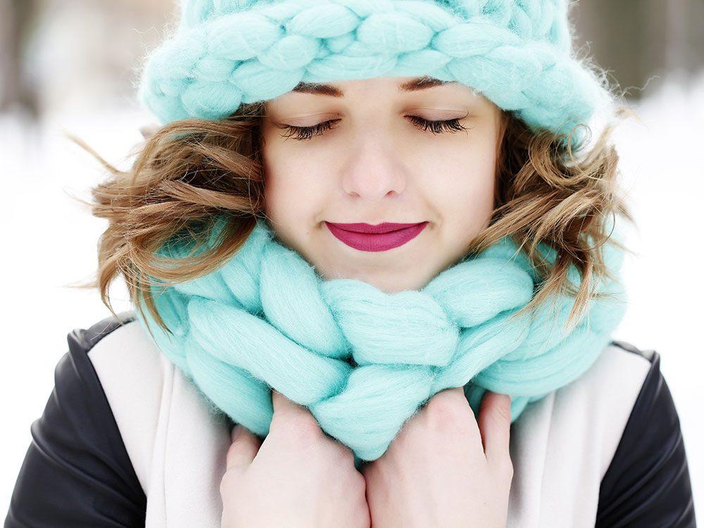 L'humidité dans l'air joue sur le vieillissement accéléré du corps en hiver.