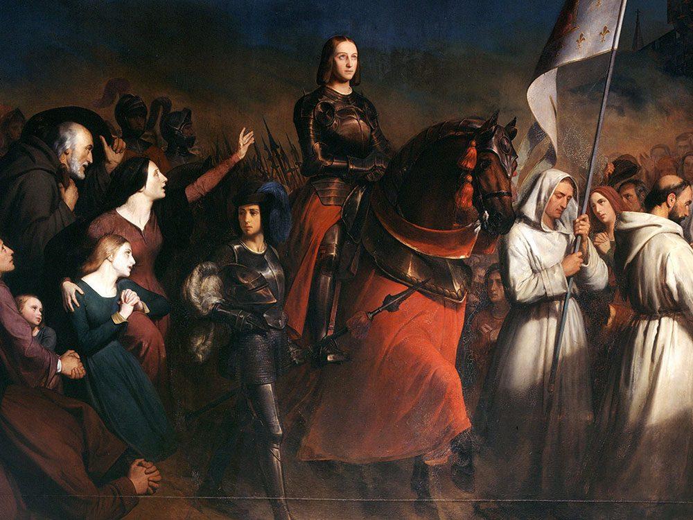 Sainte Jeanne d'Arc, l'héroïne, aura 100 ans en 2020.