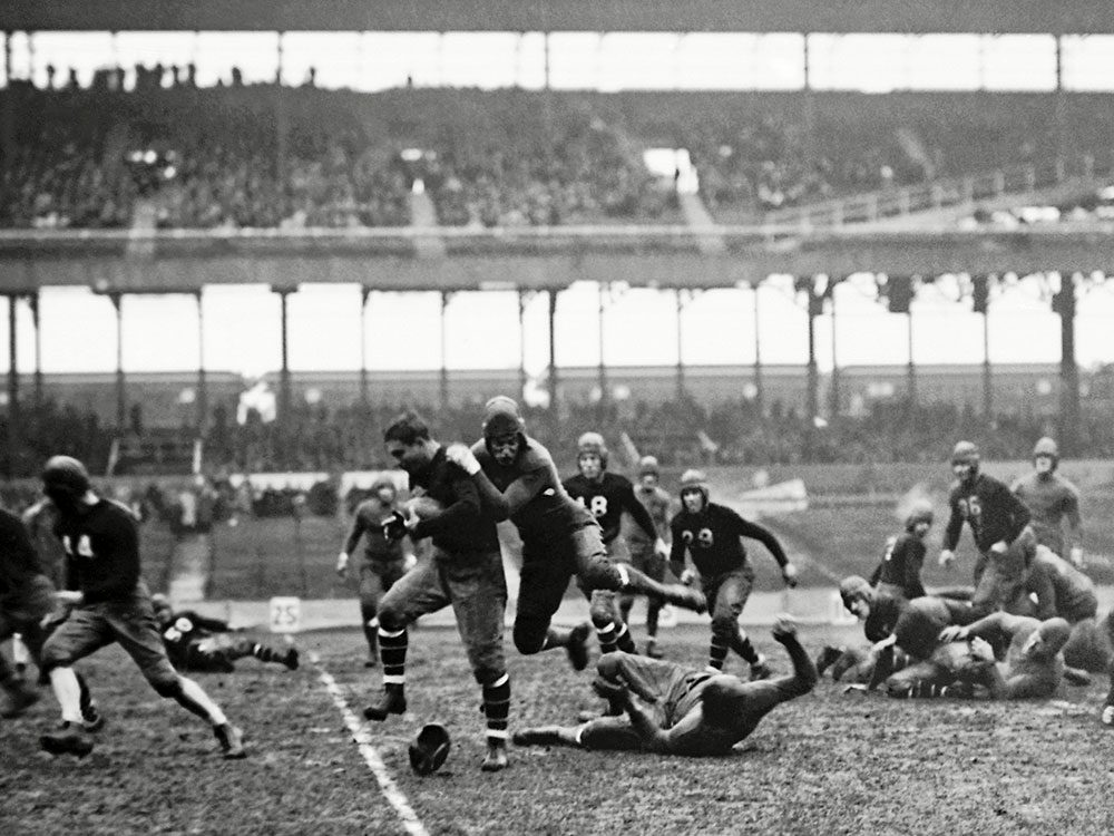 La Ligue nationale de football américain (NFL) aura 100 ans en 2020.