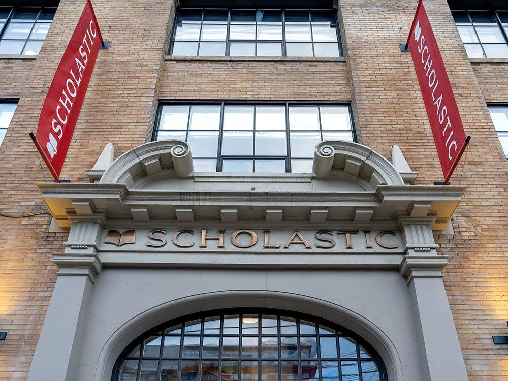 Les éditions Scholastic auront 100 ans en 2020.