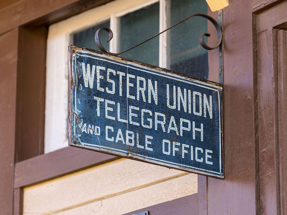 Le bâtiment de la Western Union Telegraph aura 100 ans en 2020.