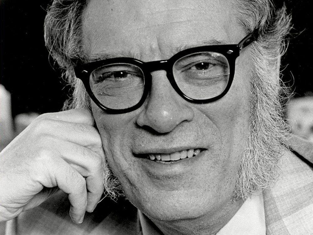L'auteur Isaac Asimov aurait eu 100 ans en 2020.