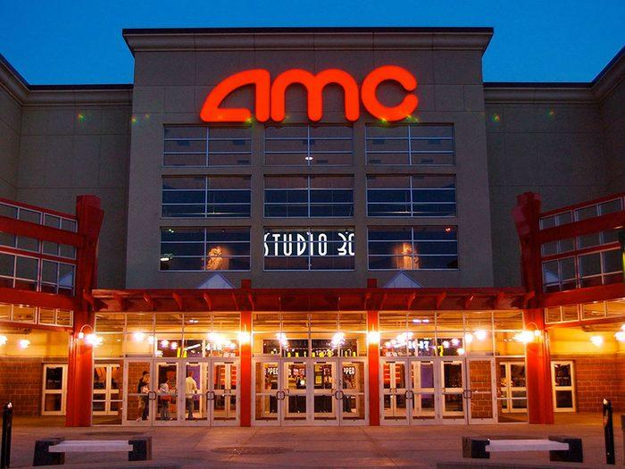 Les cinémas AMC auront 100 ans en 2020.