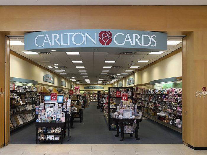 Les cartes de souhaits Carlton auront 100 ans en 2020.