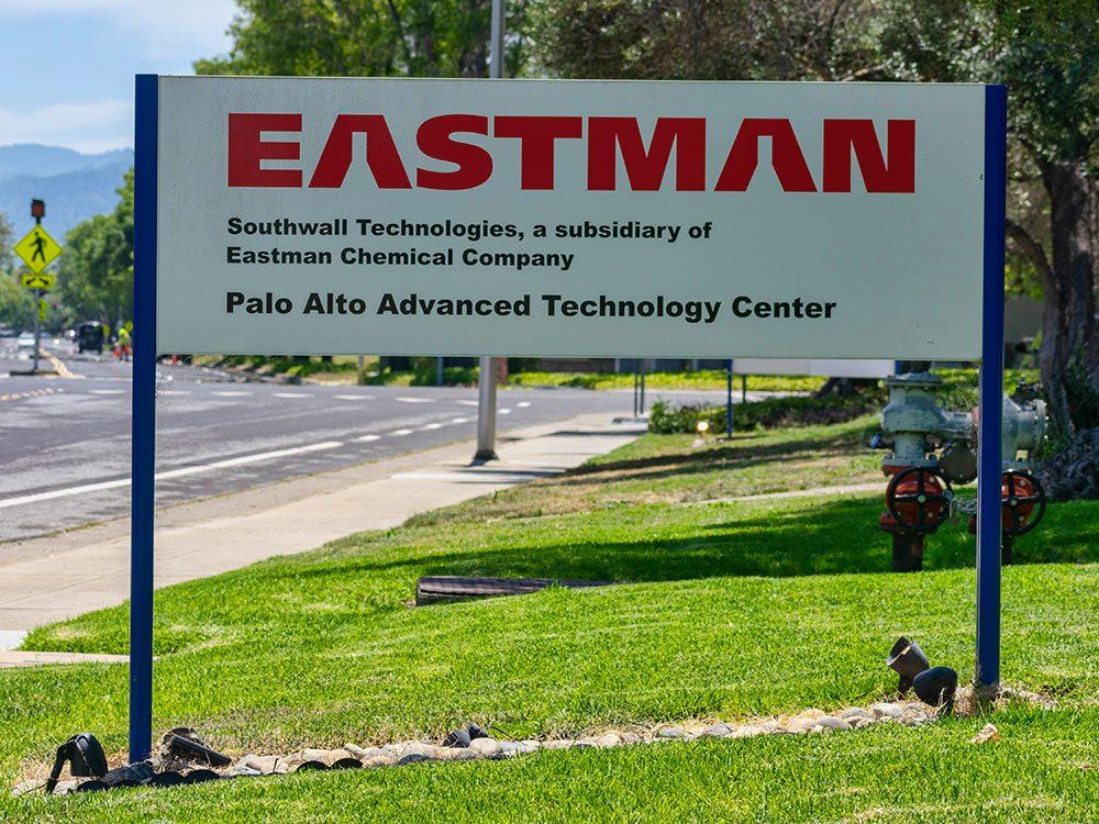 La Société Eastman Chemical aura 100 ans en 2020.