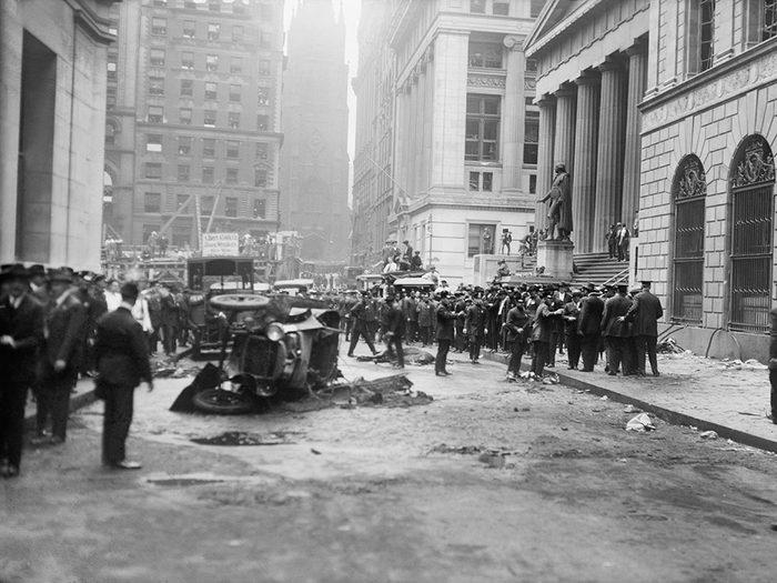 L'attaque mystérieuse de Wall Street aura 100 ans en 2020.