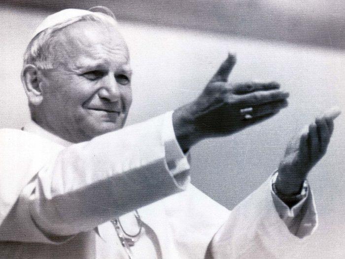 Le pape Jean-Paul II aurait eu 100 ans en 2020.