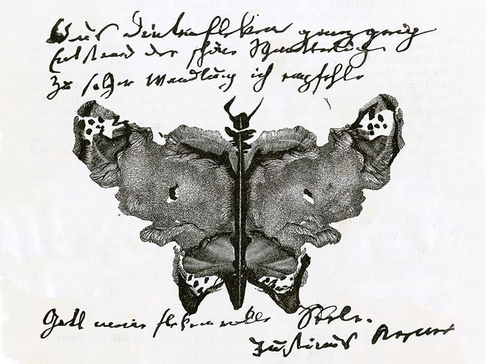Le test de Rorschach aura 100 ans en 2020.