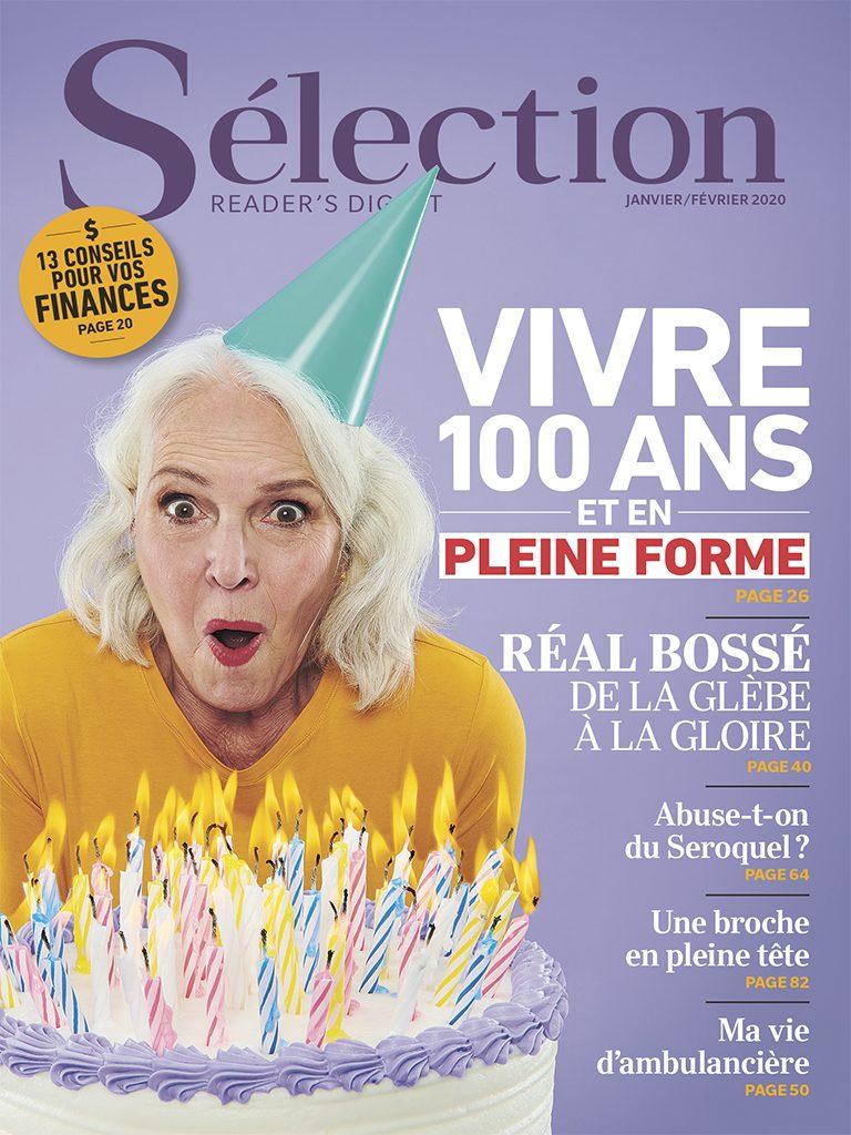 Couverture magazine Sélection janvier 2020.