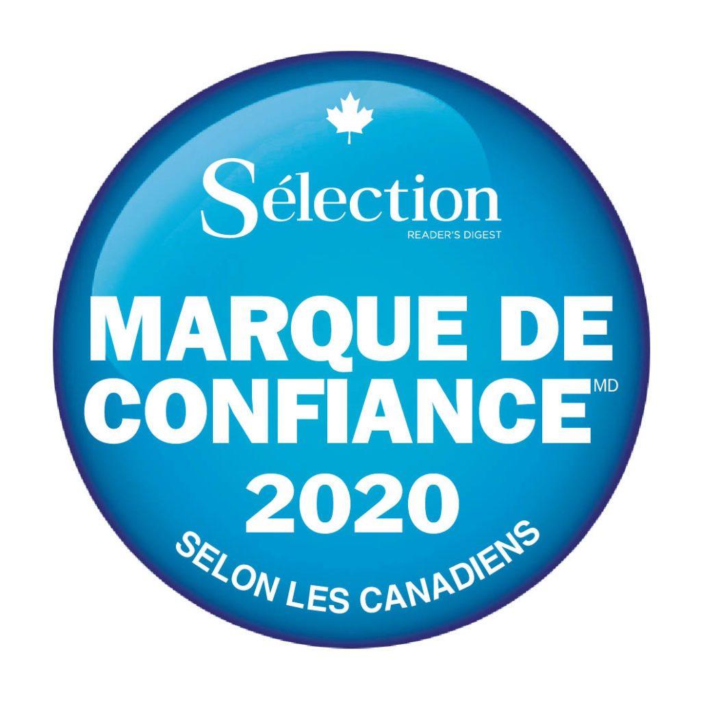Marque de confiance 2020 Feature