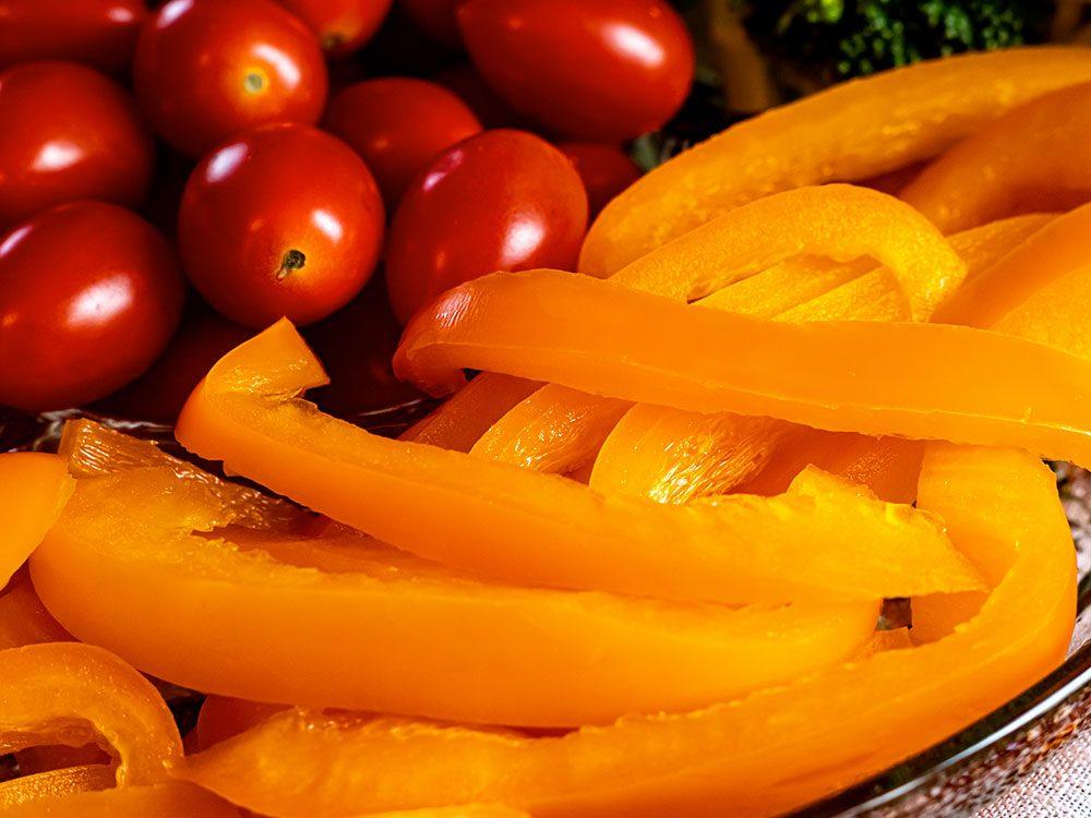 Les collations aux légumes font partie des aliments mauvais pour la santé.