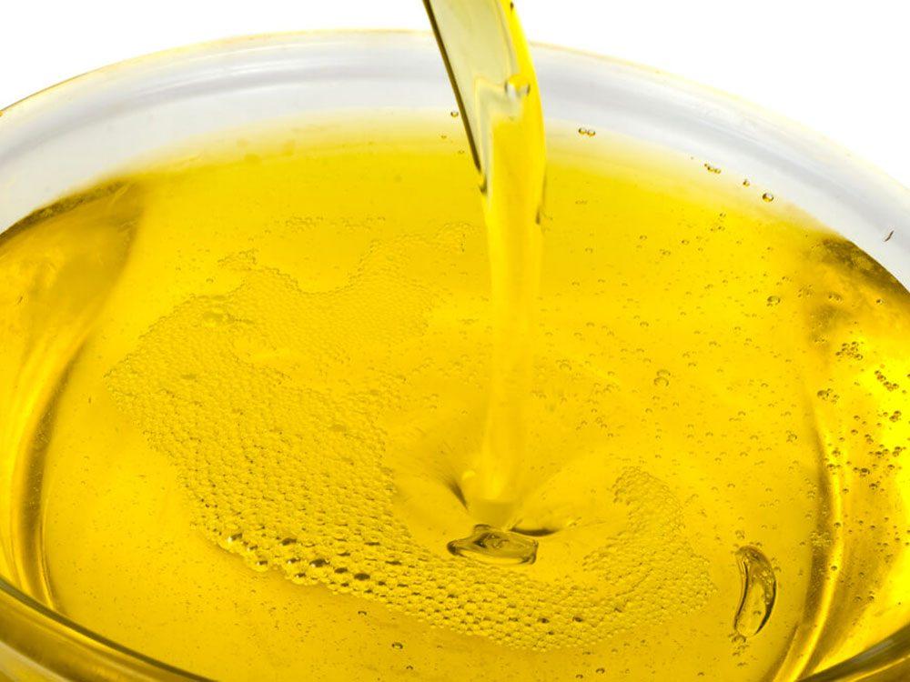 L'huile végétale fait partie des aliments mauvais pour la santé.
