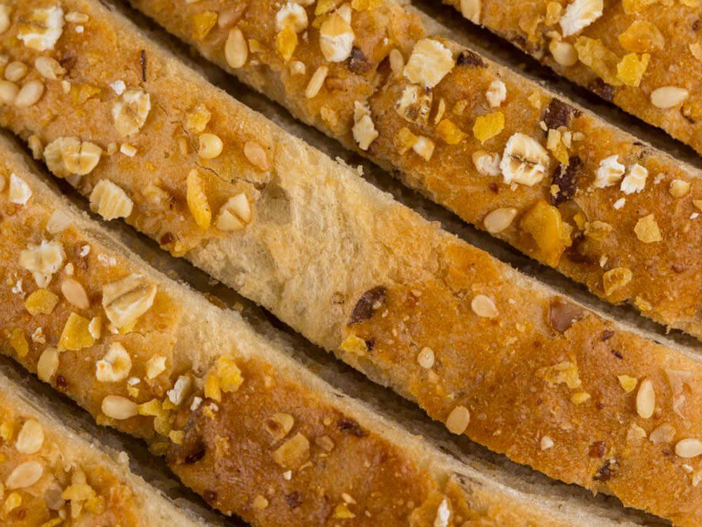 Le pain de blé fait partie des aliments mauvais pour la santé.