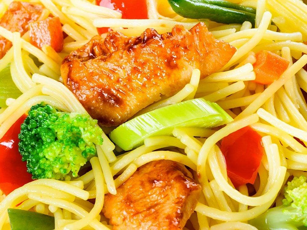 Les plats congelés minceur font partie des aliments mauvais pour la santé.