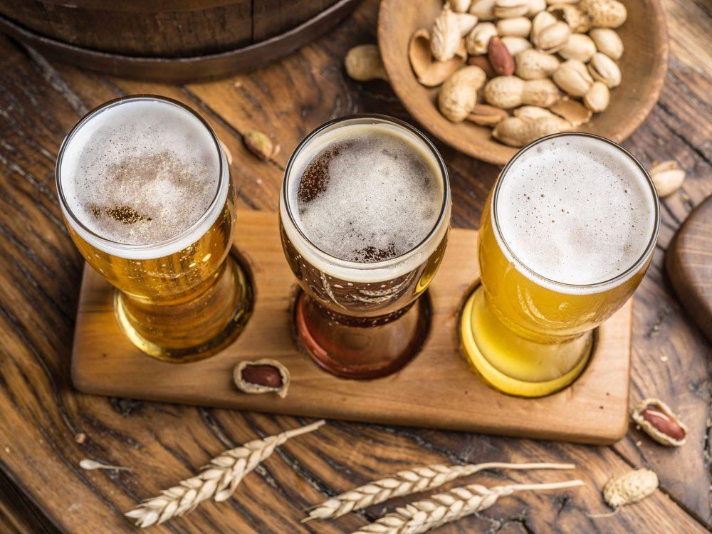 Alimentation: de la bière anti-caries.