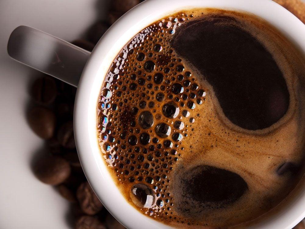 Alimentation: du café champion des antioxydants.