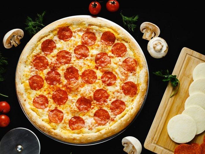 Alimentation: du sel inattendu dans la pizza.