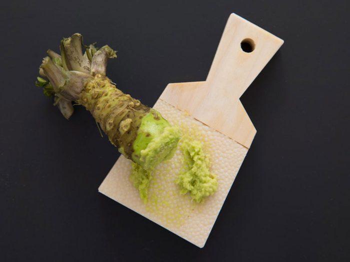 Alimentation: du wasabi presque introuvable.