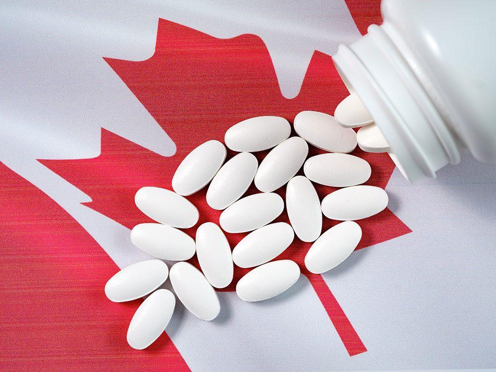 Le cas des antipsychotiques au Canada.