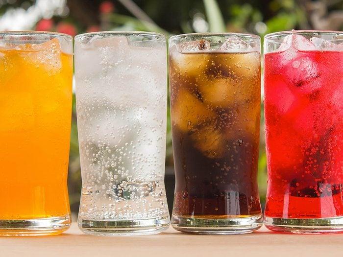 Les effets néfastes des boissons gazeuses et des sodas sur la santé.