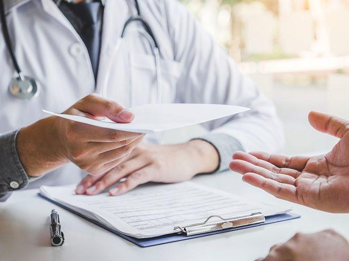 Santé: mieux retenir les conseils du médecin.