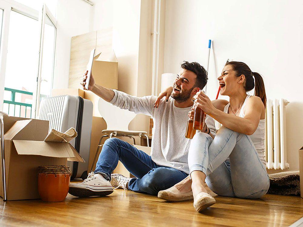 Couple: emménager ensemble trop vite n'est pas une bonne chose.