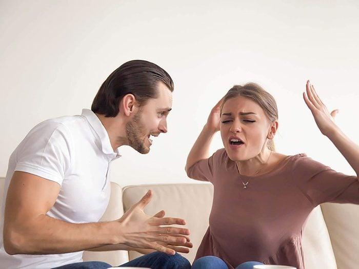 Couple: verbaliser chaque irritant n'est pas une bonne chose.