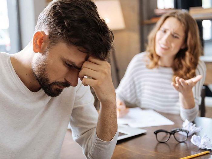 Couple: prendre constamment l'autre en charge n'est pas une bonne chose.