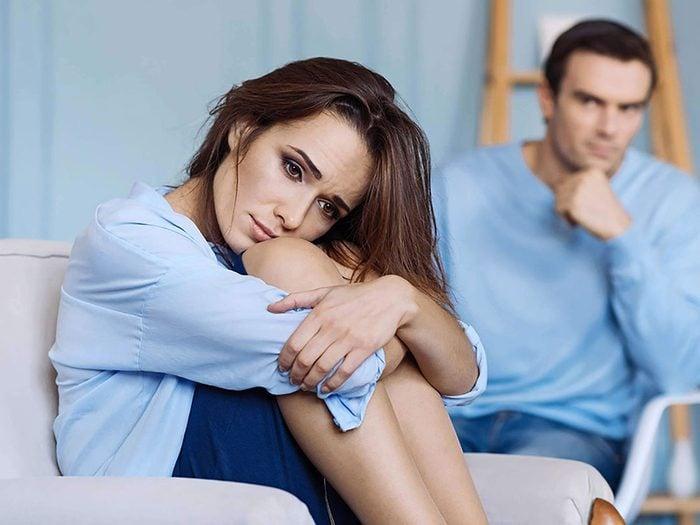 Couple: faire carrément peur à l'autre n'est pas une bonne chose.