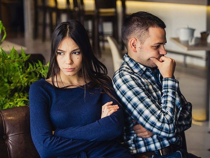 Couple: essayer de sauver ou de changer quelqu'un n'est pas une bonne chose.