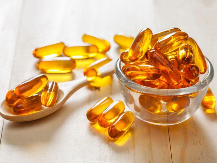 Prenez des suppléments de vitamine D contre la déprime.