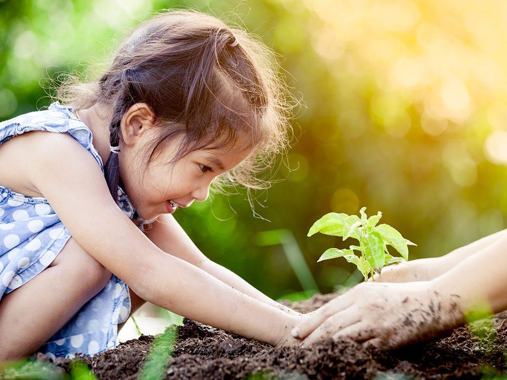 L'éducation permet aux enfants de devenir écoresponsables.