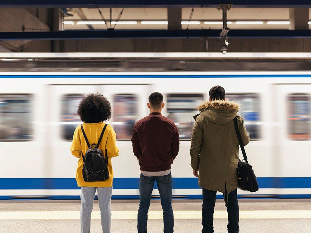 Un temps d'adaptation nécessaire pour que l'être humain ne souffre plus du mal des transports.