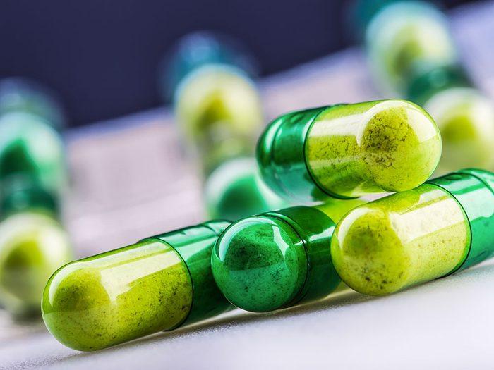 Protéger les petits-enfants des médicaments.