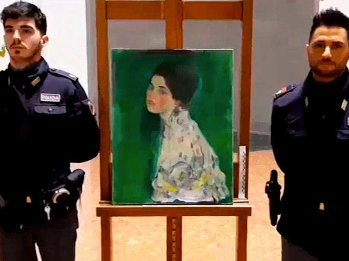 Les mystères du Portrait d'une dame de Gustav Klimt.