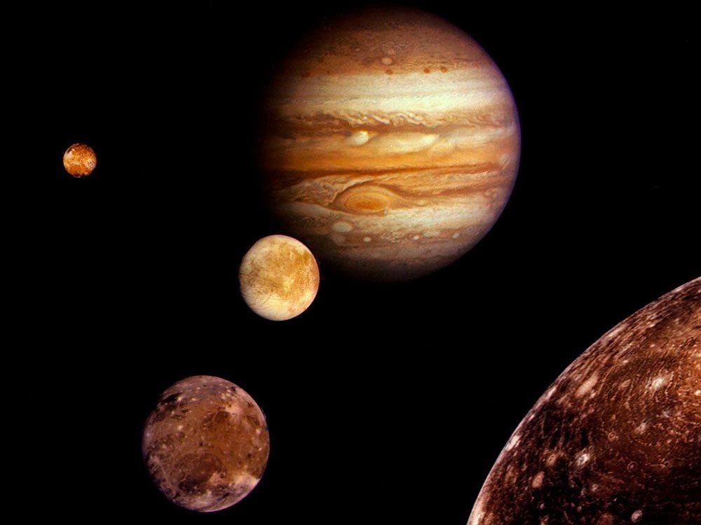 Les planètes et leurs mystères.